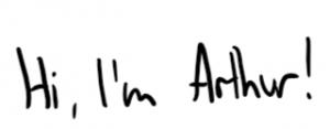 Hi, I'm Arthur